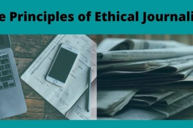 Five Principles of Ethical Journalism